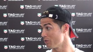Cristiano Ronaldo - I Wish To Return To Manchester United One Day, In The Future You Never Know
