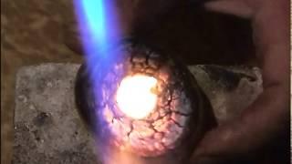 тигль для плавки золота из картофеля