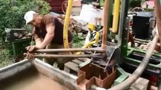 Обучающее видео бурению скважин на воду  Обучение бурению  Видео бурение