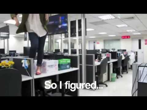 Girl Quits Job By Making Kanye Dance Video At Work