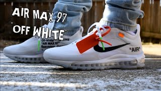 """Air Max 97 """"Off White"""" Review + On Feet"""