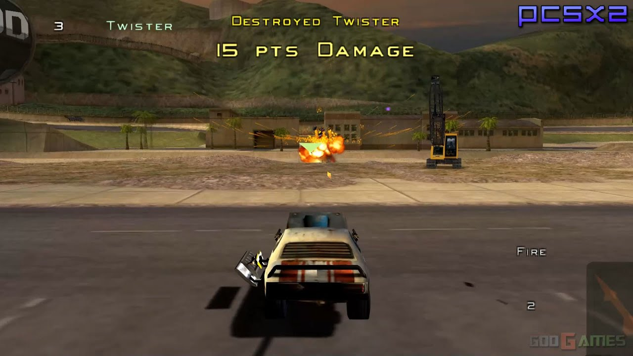 Twisted Metal: Head-On - PS2 Gameplay 1080p (PCSX2) - YouTube