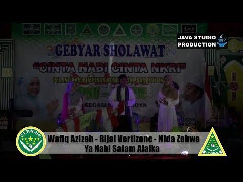 Ya Nabi Salam Alaik - Wafiq Azizah - Rijal - Nida - Gebyar Sholawat IPNU-IPPNU Gentasari Kroya 2017