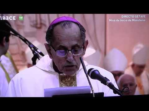 Monseñor Joaquín Maria López de Andújar, Ginés García nuevo obispo Getafe - Bienvenida - 20180224