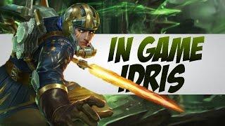 IDRIS IN GAME - NEW HERO GAMEPLAY - VAINGLORY GAME MOBA MOBILE