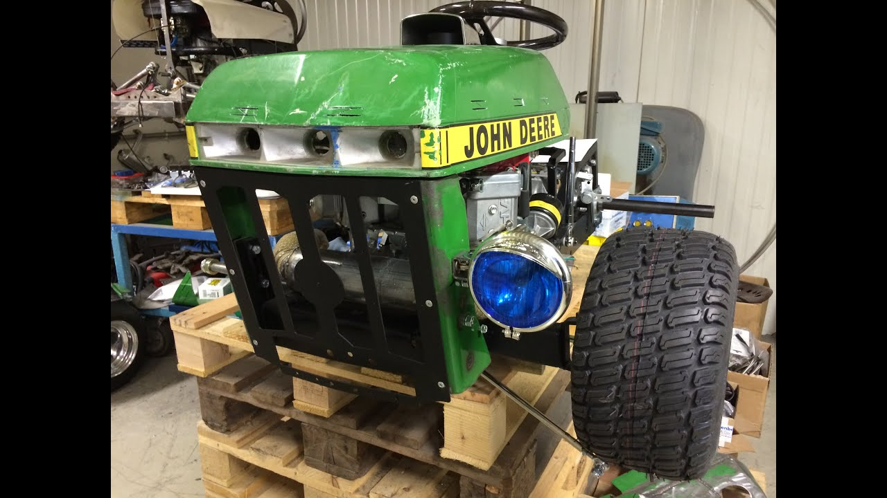 Racing Mower Build 17 Update Peerless 700