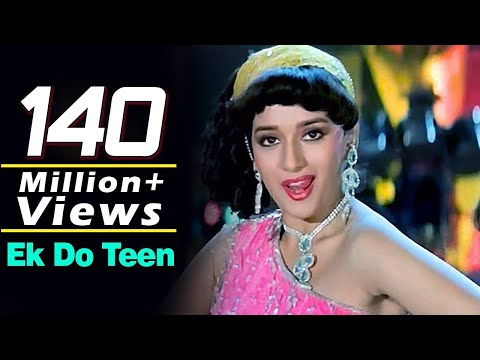 Ek Do Teen  Tezaab 1988  Madhuri Dixit  Alka Yagnik  Bollywood Dance Songs