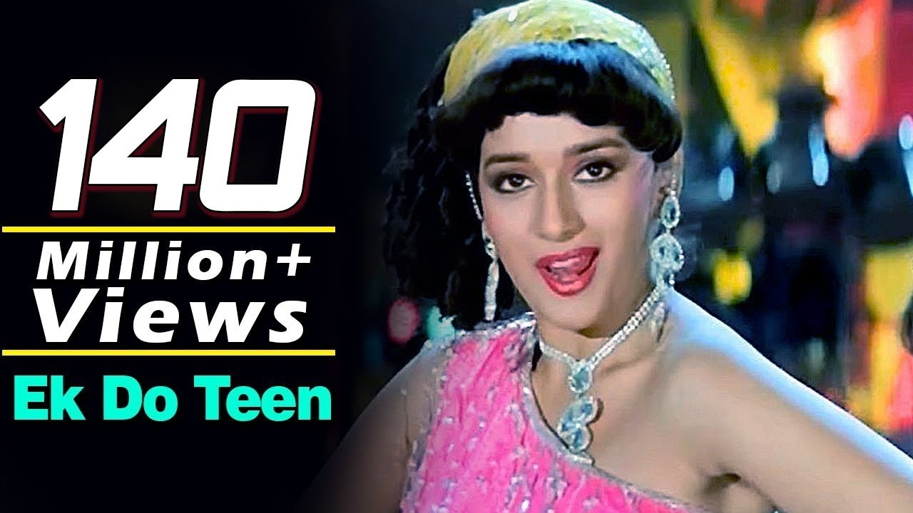 Ek Do Teen | Tezaab (1988) | Madhuri Dixit | Alka Yagnik | Bollywood Dance Songs