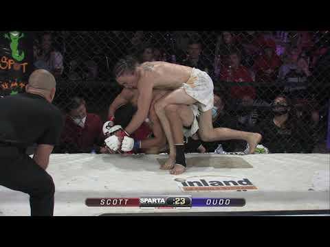 Sparta Wyoming 3 Jayson Scott vs Anel Dudo MMA Title