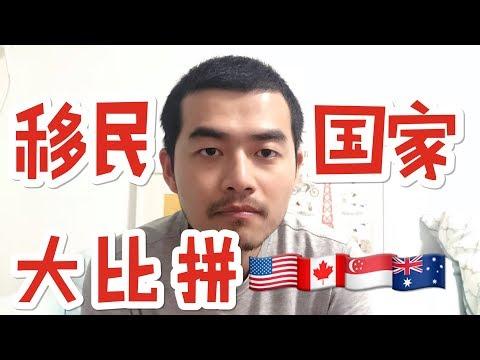 56 如何选择移民国家?美国加拿大新加坡澳洲新西兰 适合自己的就是最好的
