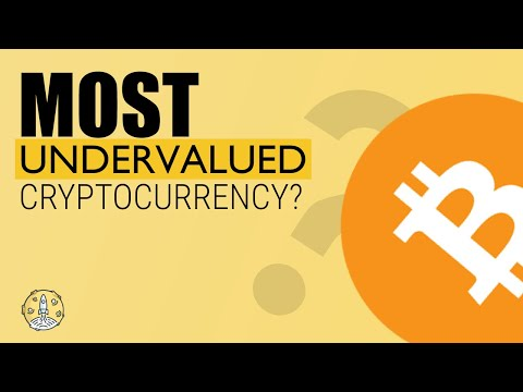 top ten undervalued cryptocurrencies
