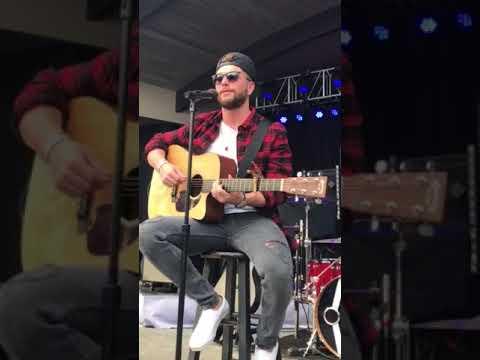 """Chris Lane """"Take back home girl"""" sound check 3/16/18 Wilmington, NC."""