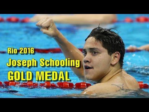 Rio 2016: Joseph Schooling beats Michael Phelps in 100m butterfly