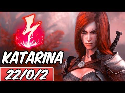 BURST KATARINA MID | Best Build & Runes | PENTAKILL | PROJECT: Katarina | League of Legends | S9