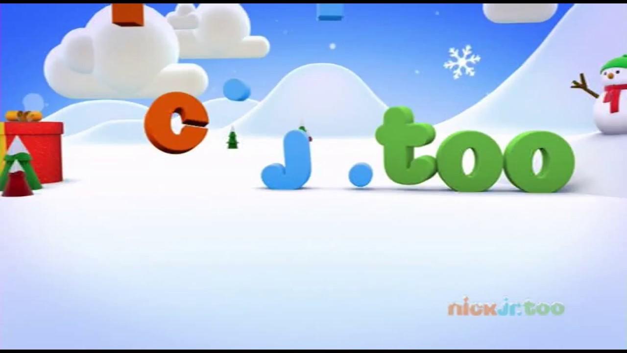 Nick Jr Too Uk Christmas Idents 2016 King Of Tv Sat