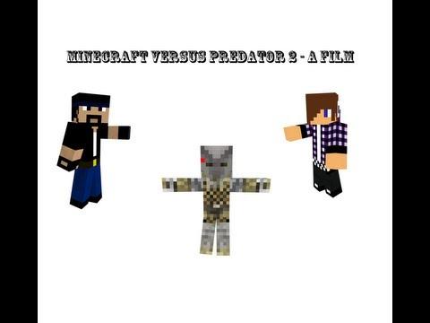 Minecraft Versus Predator 2 - A film