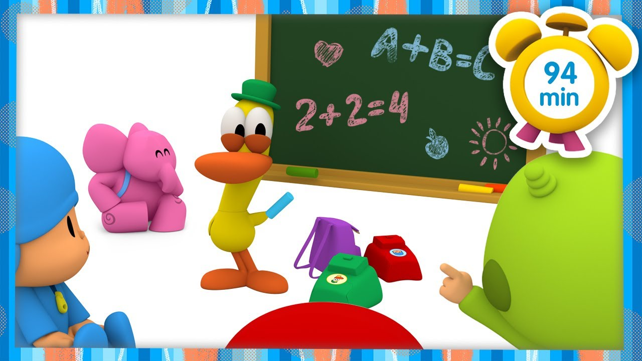🎓 POCOYO in ENGLISH - The best teacher [ 94 minutes ] | Full Episodes | VIDEOS and CARTOONS for KIDS