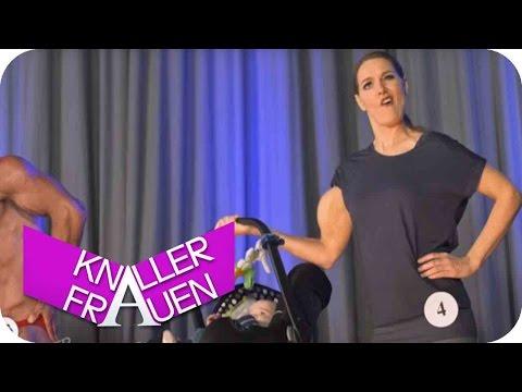 Bodybuilding [subtitled] | Knallerfrauen mit Martina Hill