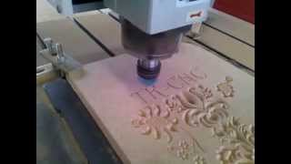MDF With 6090 Cnc Router, V Bit Work On Wood, China Cnc Router