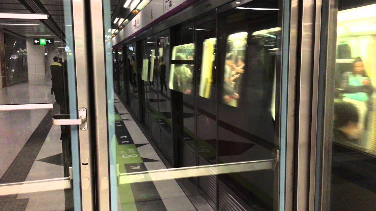 [TV049] 港鐵 西鐵綫 7卡列車到站廣播 MTR West Rail Line 7-cars train arriving PA - YouTube