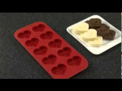 Как сделать формочку для шоколад