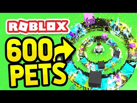 Pet Simulator How To Equip More Pets With 0 Robux Equipping 600 Pets In Roblox Pet Simulator Youtube