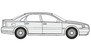 How To Draw Volvo Xc90