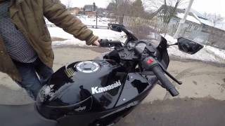 Покупка первого мотоцикла Kawasaki Ninja 250r