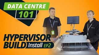 DATA CENTRE 101 | HYPERVISOR BUILD | EP 2 | VMWARE INSTALL, RAID SETUP
