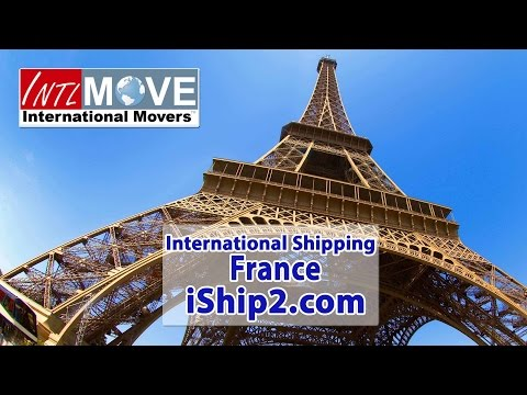 relocation to France shipping company USA to France relocation