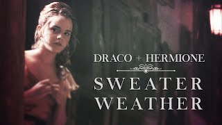 draco hermione sweater weather