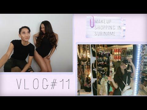 VLOG# 11 | BEAUTY GURUS | Makeup shopping in Suriname?!!!