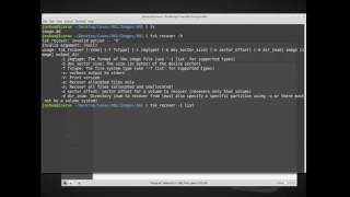 Forensic Data Recovery in Linux - tsk_recover