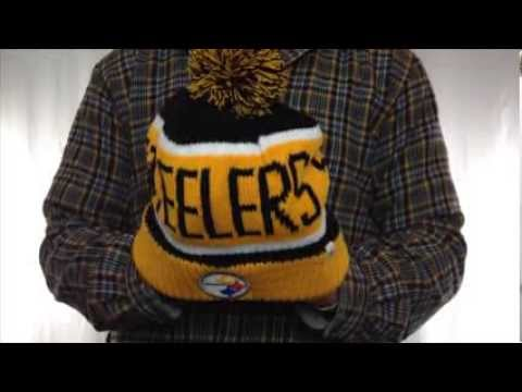 270f59ba303a25 Steelers 'THE-CALGARY' Gold-Black Knit Beanie Hat by Twins 47 Brand ...