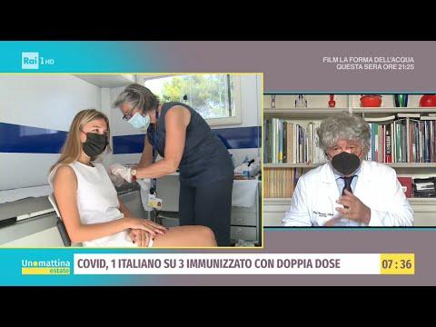 In Italia in aumento i contagi da variante Delta - Unomattina Estate - 30/06/2021
