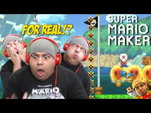 I CAN'T BELIEVE THIS SH#T!!! [SUPER MARIO MAKER] [#66]