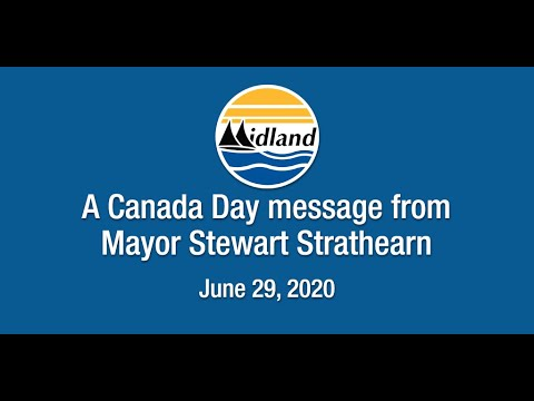 A Canada Day message from Mayor Stewart Strathearn