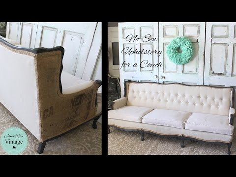 How To Upholster a Couch