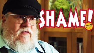 Game of Thrones' GRRM Calls Out Fans While Not Writing Winds of Winter