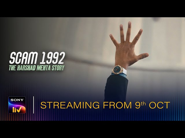 SCAM 1992 - The Harshad Mehta Story | Streaming From 09-10-20