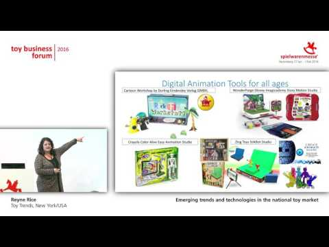 Emerging trends and technologies in the international toy market by Reyne Rice (USA)