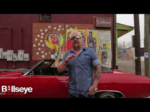 Guy Fieri Headlines 2017 Players Tailgate at Super Bowl in Houston