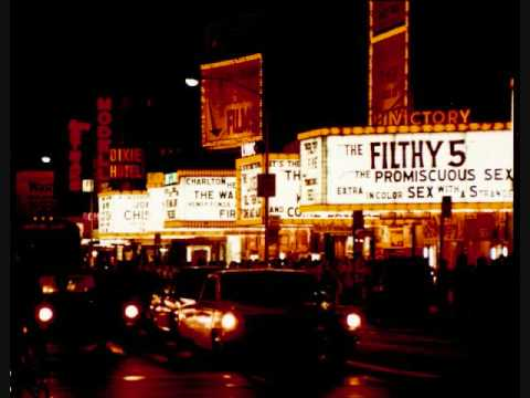 """Dirty Seedy Old Times Square and 42nd St. (""""The Deuce"""") before gentrification"""
