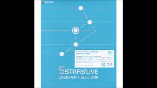 DVD : CASIOPEA with Synchronized DNA / 5 STARS LIVE (2005)