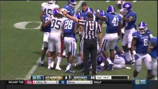 UT Martin vs Kentucky 2014 Football (HD Full Length Game)