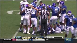 UT Martin vs Kentucky 2014 Football (HD Full Length Game)