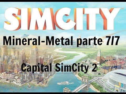 SimCity 5 - Ciudad desde cero (Mineral y Metal) parte 7/7 ¡Aeropuerto Internacional acabado!