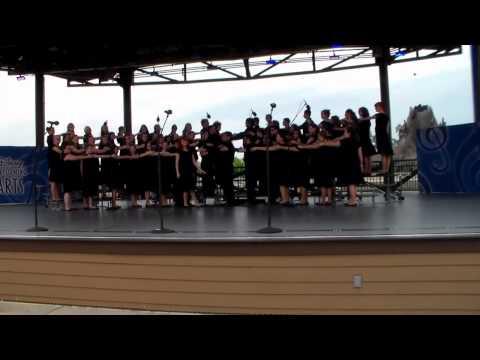 Spaulding High School Chorus Disney 2015