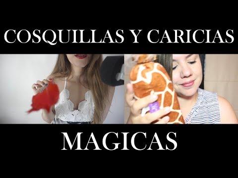⭐️ ASMR Español ⭐️Cosquillas y caricias magicas | Ft. Murmullo Latino