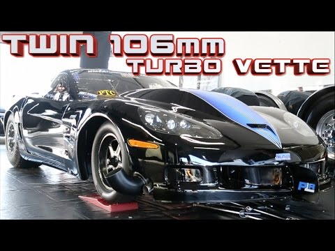 3000+HP ZR1 pulls 3G's of acceleration! 212MPH